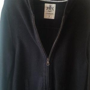 Express M Medium Jacket zip up shirt